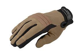 Тактичні рукавиці Armored Claw Direct Safe Half Tan Size S M