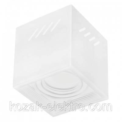 FREZYA-S Светильник накладной под лампу MR16/JCDR цвет белый