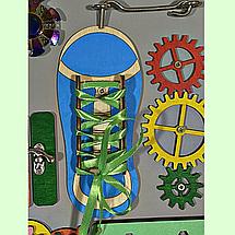 Розвиваюча дошка розмір 30*40 Бизиборд для дітей, фото 3