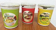 Готовые первые блюда в ассортименте (борщ, суп)