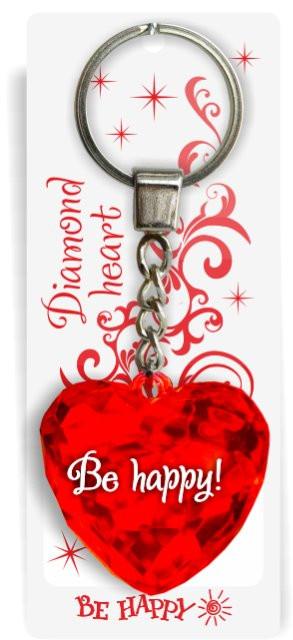 Брелок-сердце (диамантовое сердце) Собственное производство!