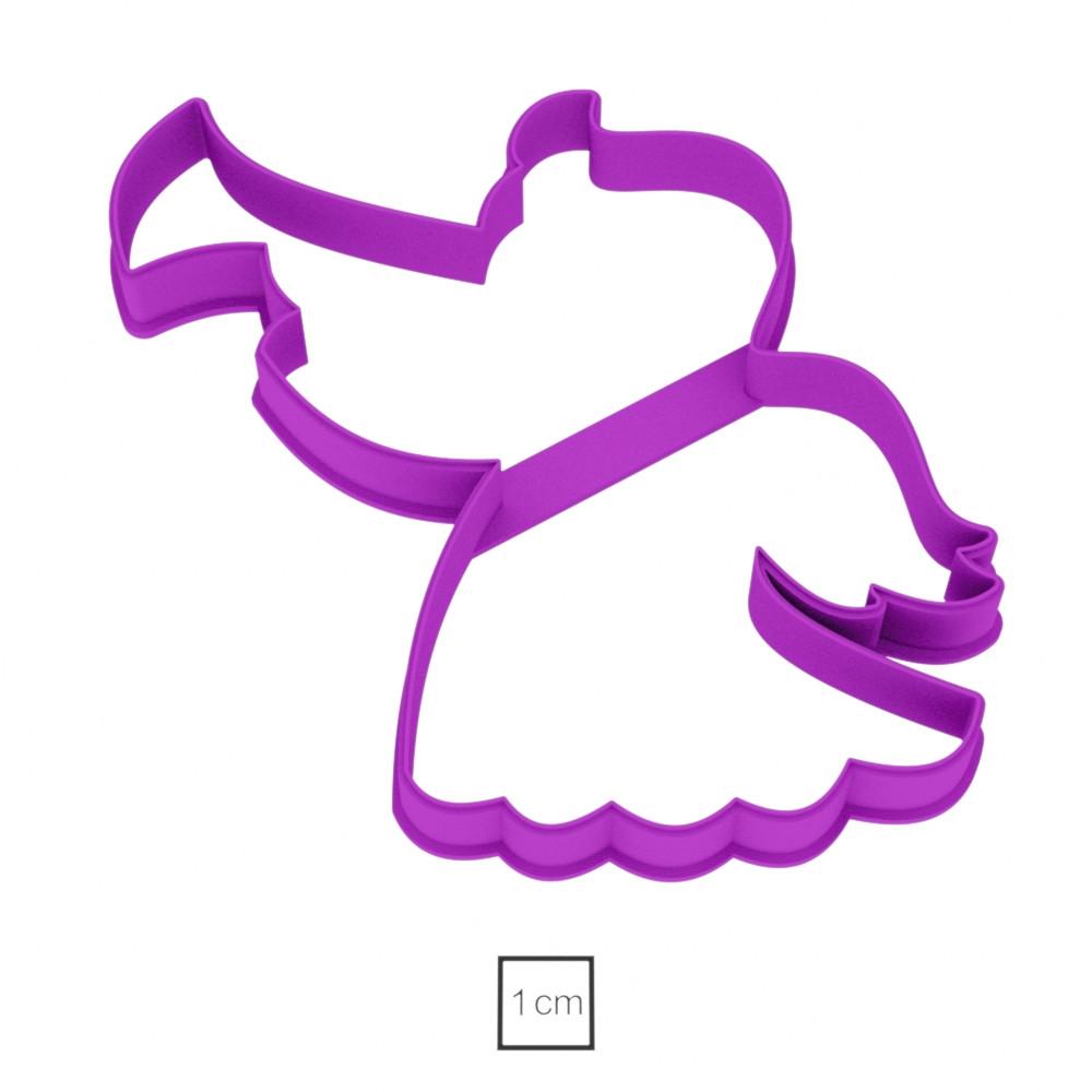 Висічка для пряників у вигляді ангела