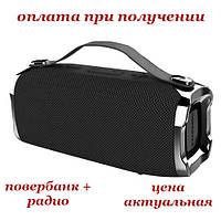 Беспроводная мобильная портативная влагозащищенная Bluetooth колонка с Power Bank радио акустика HOPESTAR H36, фото 1