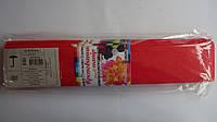 Гофробумага Красный яркий,50*200мм для творчества.Креповая бумага для детей.Гофропапір для дитячої творчості.Г