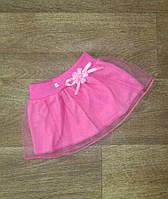 Ясельная юбка на девочку,интернет магазин,детская одежда от производителя, кулир + фатин