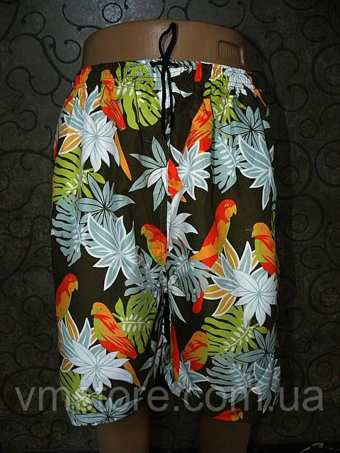 Летние мужские шорты с ярким рисунком