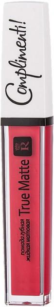 Жидкая помада для губ матовая Relouis True Matte Complimenti №03 4,5 г