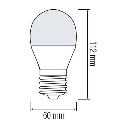 Led лампа 12W E27 4200K Horoz Electric Premier-12, фото 2