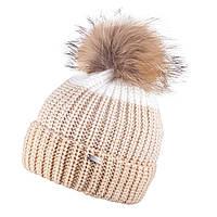 Зимняя шапка для девочки TuTu арт. 3-005207( 52-56), фото 1