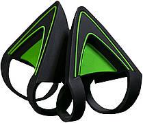 Насадки для наушников Razer Kitty Ears for Kraken Зеленый (RC21-01140200-W3M1)