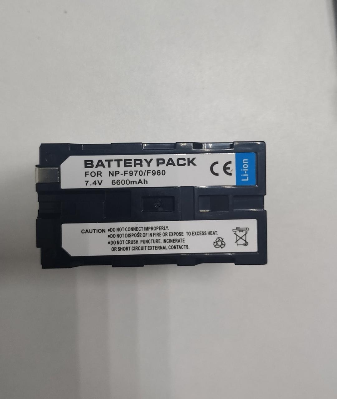 Aккумулятор NP-F970/F960 6600mAh J-Alice