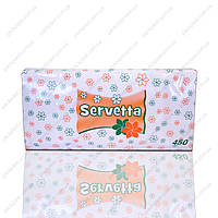 Салфетки Servetta 450 листов