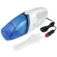 Автомобильный пылесос Vacuum Cleaner бело/синий