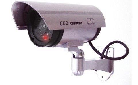 Видеокамера муляж Видеонаблюдение, Видеокамера обманка DUMMY IR CAMERA OUTDOOR/ RR201