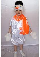 Детский новогодний костюм Снеговик, фото 1