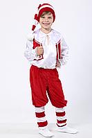 Карнавальный костюм Гном №2 (красный), фото 1