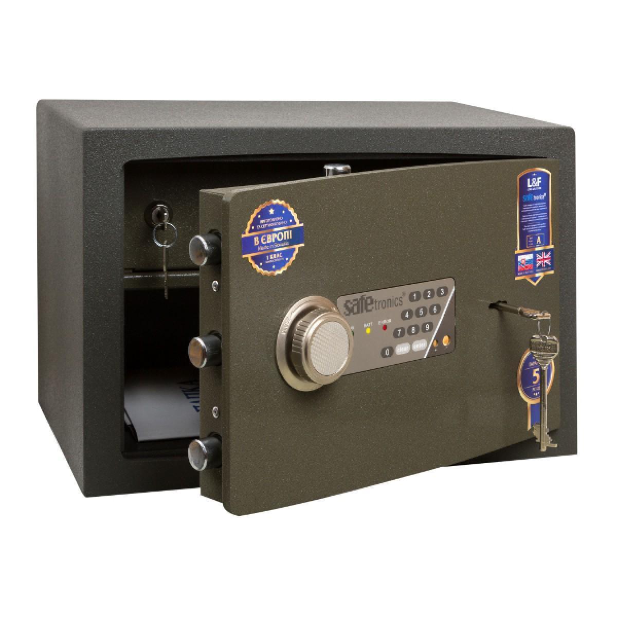Сейф зламостійкий Safetronics NTR 24E-Мѕ