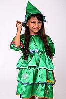 Новогодний карнавальный костюм для девочки Ёлочка