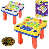 Музыкальный детский игровой столик, на батарейке, в коробке