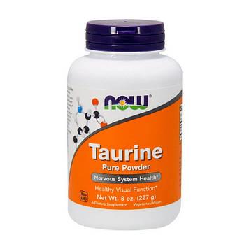 Аминокислота Таурин Now Foods Taurine Pure Powder (227 g) без вкуса