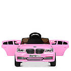 Детский электромобиль машина автомобиль Bambi Racer BMW M 3271EBLR-8 розовый, фото 2