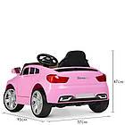 Детский электромобиль машина автомобиль Bambi Racer BMW M 3271EBLR-8 розовый, фото 4