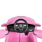 Детский электромобиль машина автомобиль Bambi Racer BMW M 3271EBLR-8 розовый, фото 6