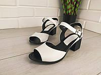 Босоножки женские на каблуке, сандалии летние, босоножки из натуральной кожи. Украина