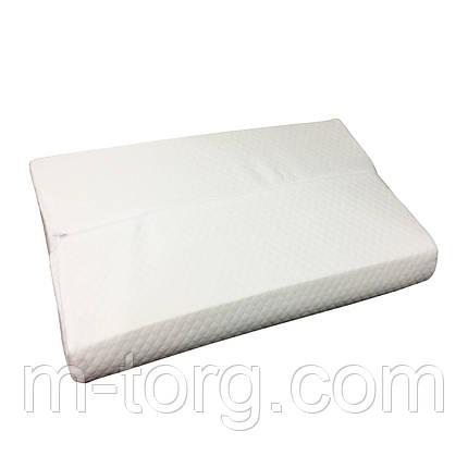 "Подушка ортопедична ""Memory"" розмір 50/70/10 см, фото 2"