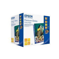 Фотобумага EPSON Premium Glossy Photo Paper, глянцевая 255g/m2, 100х150 мм, 500л (C13S041826)