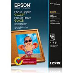 Фотобумага EPSON Glossy Photo Paper, глянцевая 200g/m2, 100х150 мм, 500л (C13S042549)
