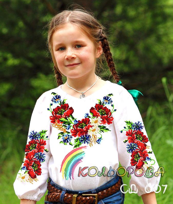 Заготовка блузки дитячої  СДД-007