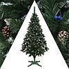 Ель Рождество 1.8м Элитная калина+шишки ель заснеженная с шишками, фото 3