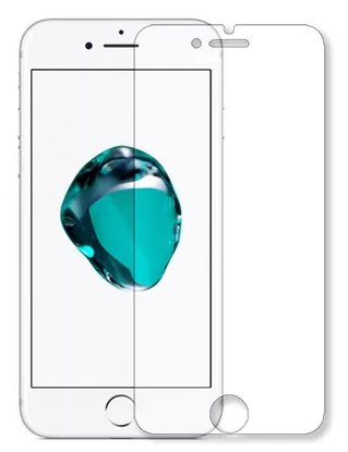 Гидрогелевая защитная пленка на iPhone 7 на весь экран прозрачная