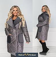 Супер модное женское пальто 3 цвета 42-44;46-48 50-52; 54-56;58-60