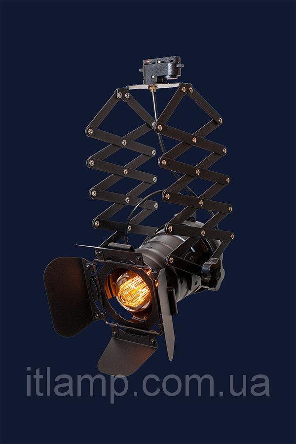 Люстра светильник прожектор Levistella 75214 BK (трек)