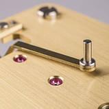 Настенные часы Regulateur Hermle 70996-740761 черный лак, фото 6