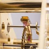 Настенные часы Regulateur Hermle 70996-740761 черный лак, фото 8