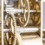 Настенные часы Regulateur Hermle 70996-740761 черный лак, фото 9
