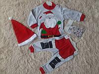 Детский новогодний костюм с начесом 74,80,86,24 мес
