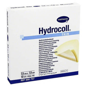 Повязка Hartmann Hydrocoll Thin 7,5см х 7,5см
