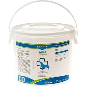 Витамины для собак Canina Hefe 2500г 3100 таблеток комплекс с энзимами, аминкислотами