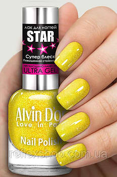 Лак для ногтей Alvin D`or STAR Супер блеск тон 6111 15мл