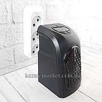 Керамический дуйчик 400 Вт / Портативный обогреватель handy heater / Маленький мини обогреватель в розетку