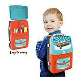 Обучающий набор для рисования Backpack packing 3 в 1 Голубой, фото 3