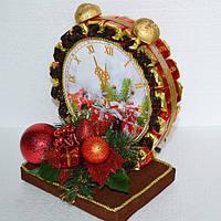 Часы из конфет - оригинальный новогодний подарок