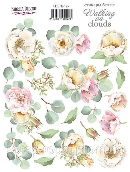 Набор наклеек (стикеров) 21 шт Walking on clouds #127 Фабрика Декора