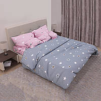 Комплект постельного белья «Звездочки» Бязь Голд Люкс Zvezdochki-4131AB, Семейный комплект