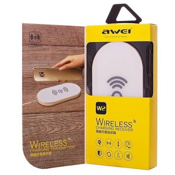 Беспроводная зарядка Awei W2 Power bank