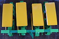 Сеялка овощная 4-х рядная для мотоблока Желто-зеленая 921, КОД: 1557429